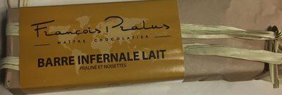 Barre Infernale Lait - Praliné Et Noisettes - Produit - fr