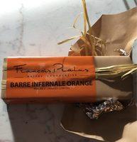 Barre infernale orange - Produit