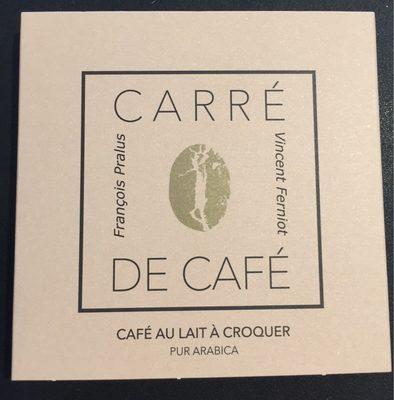 Carré de Café - Café au lait à croquer - Produit - fr