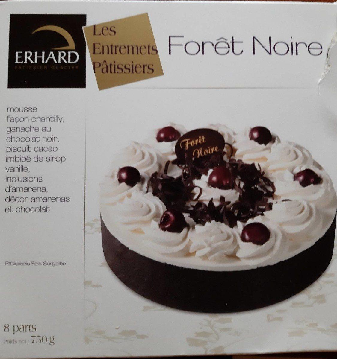 Les Entremets Pâtissiers - Forêt Noire - Product - fr