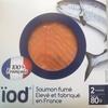 Saumon fumé élevé et fabriqué en France - Product