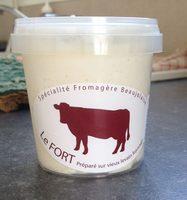 Fromage Fort sur vieux levain lt past.12% Jeandin pot150g PE - Product