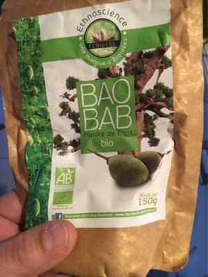 Baobab En Poudre Bio - 150 G - Ethnoscience - Product - fr