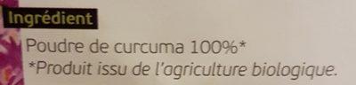 Curcuma - Ingredienti - fr