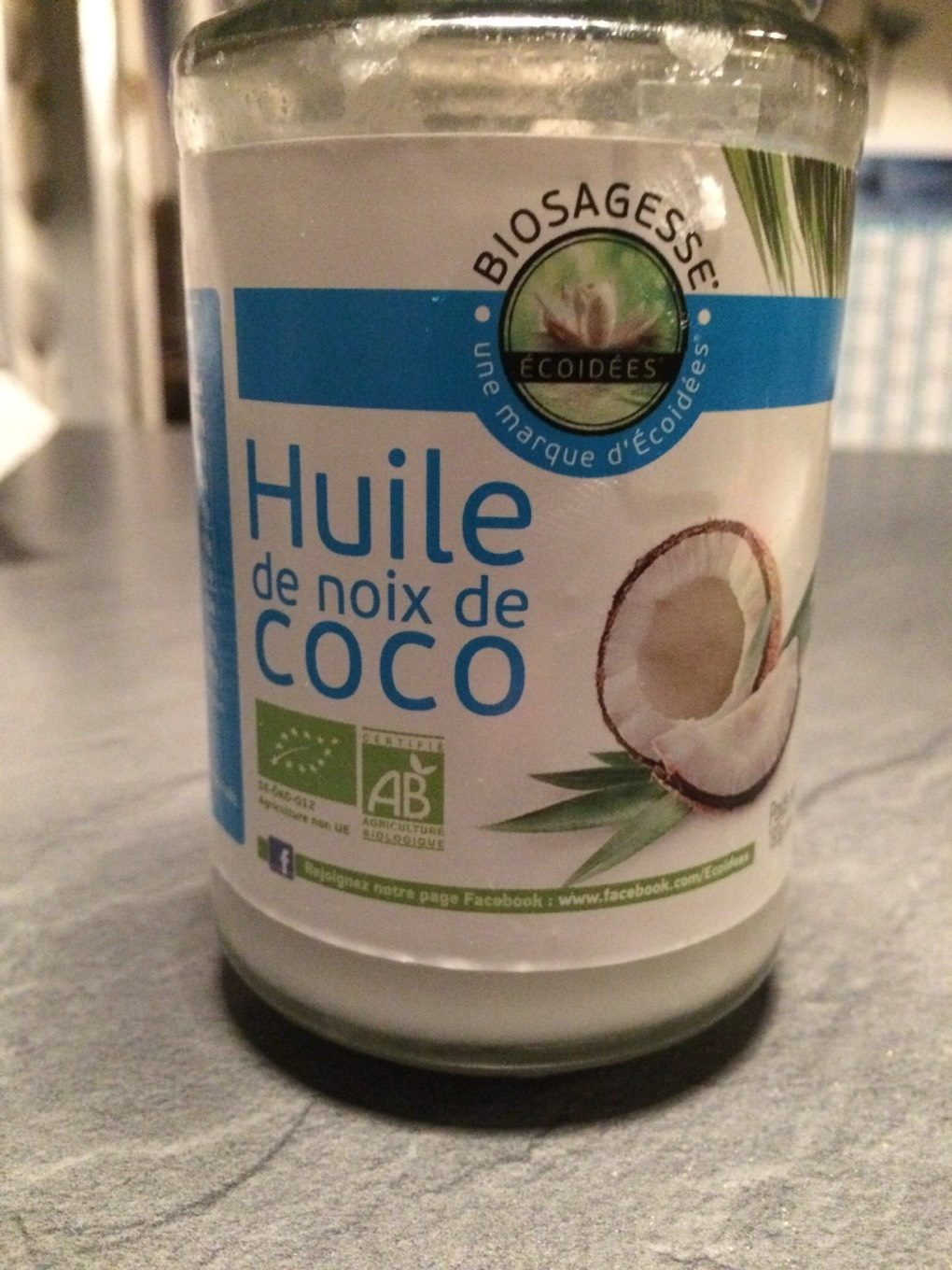 huile de coco bio 200 ml ethnoscience biosagesse. Black Bedroom Furniture Sets. Home Design Ideas
