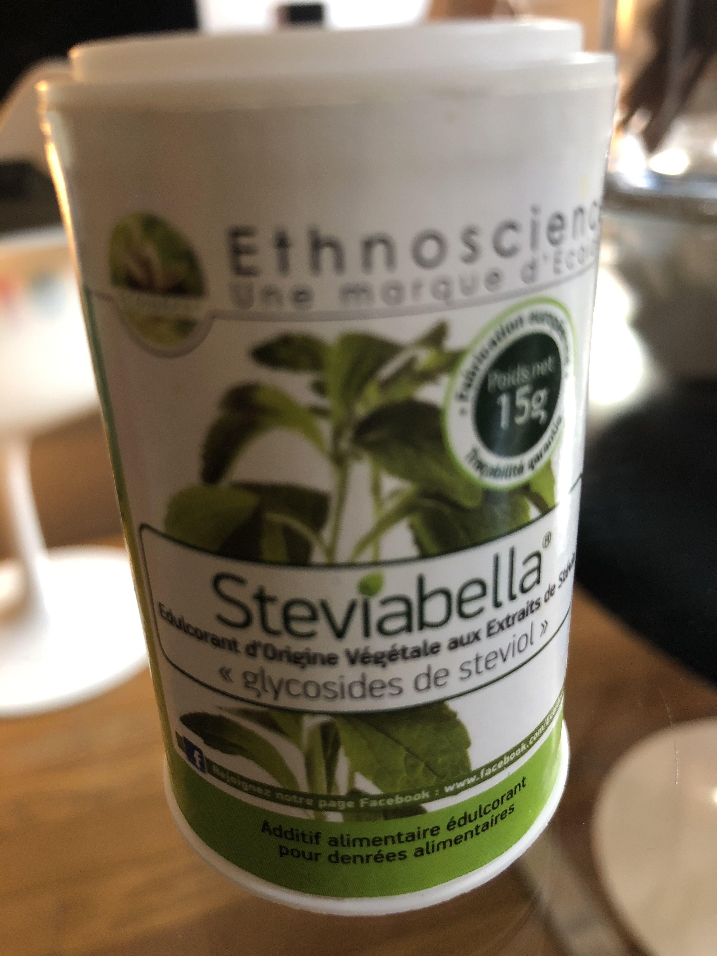 Stévia Blanche - 15 G - Ethnoscience - Produit