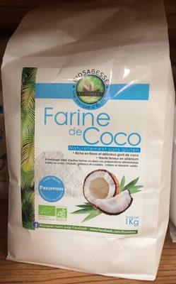Farine De Coco Bio - 1 KG - Ethnoscience - Produit - fr