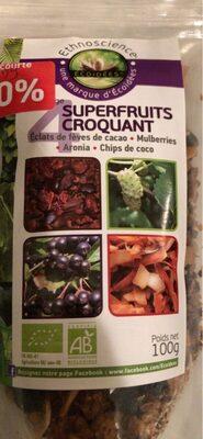 4 superfruits croquants - Product - fr