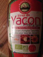 Sirop de yacon - Produit