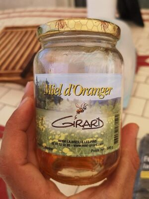 Miel d'oranger - Product
