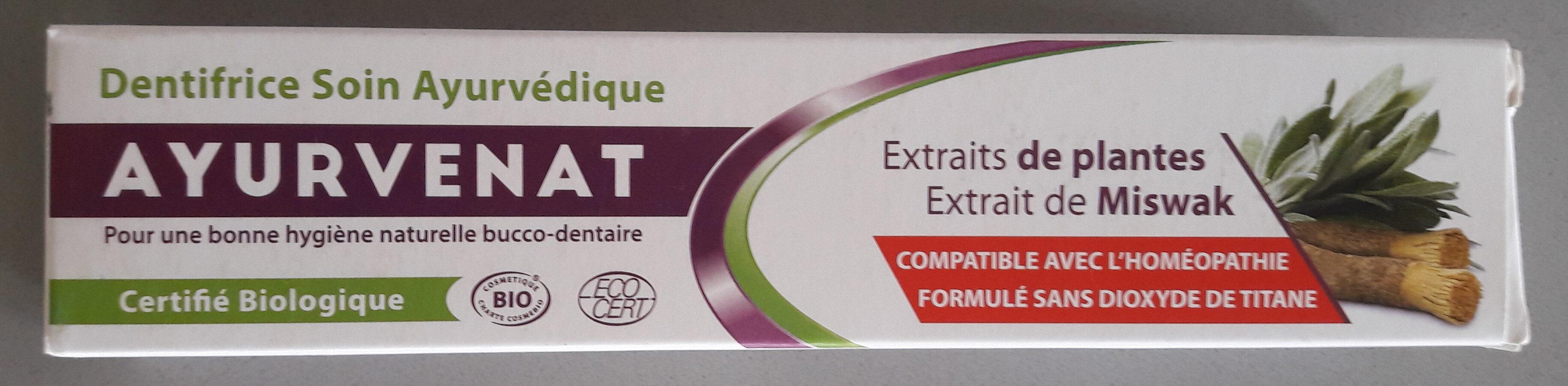 Dentifrice Soin ayurvédique - Produit - fr