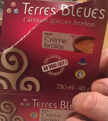 Glace creme brullee - Produit