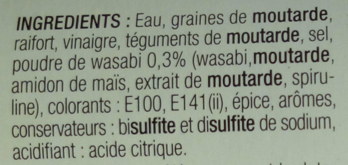 Moutarde au wasabi palais des mets 100 g for Bisulfite de sodium piscine
