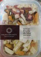 Salade Palais des mets Fruits de mer sans surimi - Produit - fr