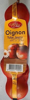 Oignon Tube jaune - Produit