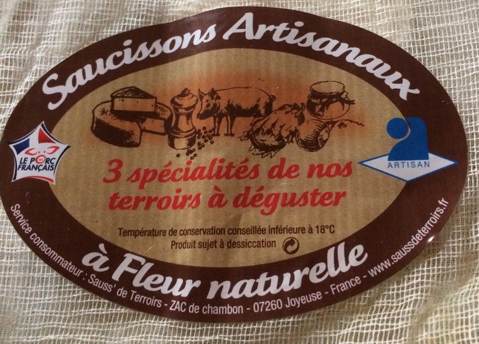Saucissons artisanaux a Fleur naturelle - Product