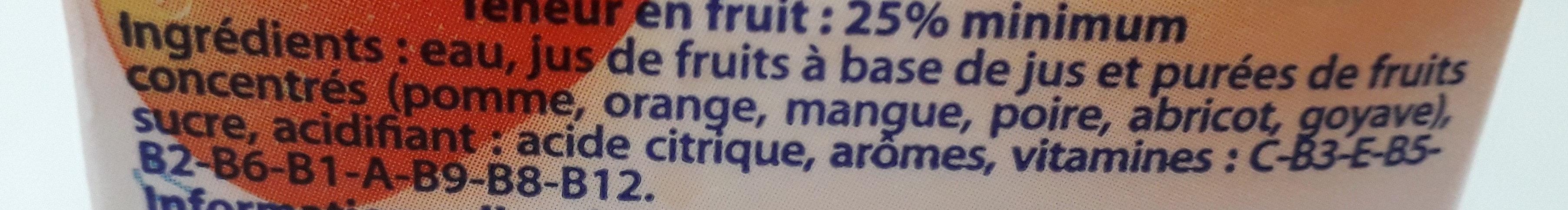 boisson tropicale - Ingrediënten