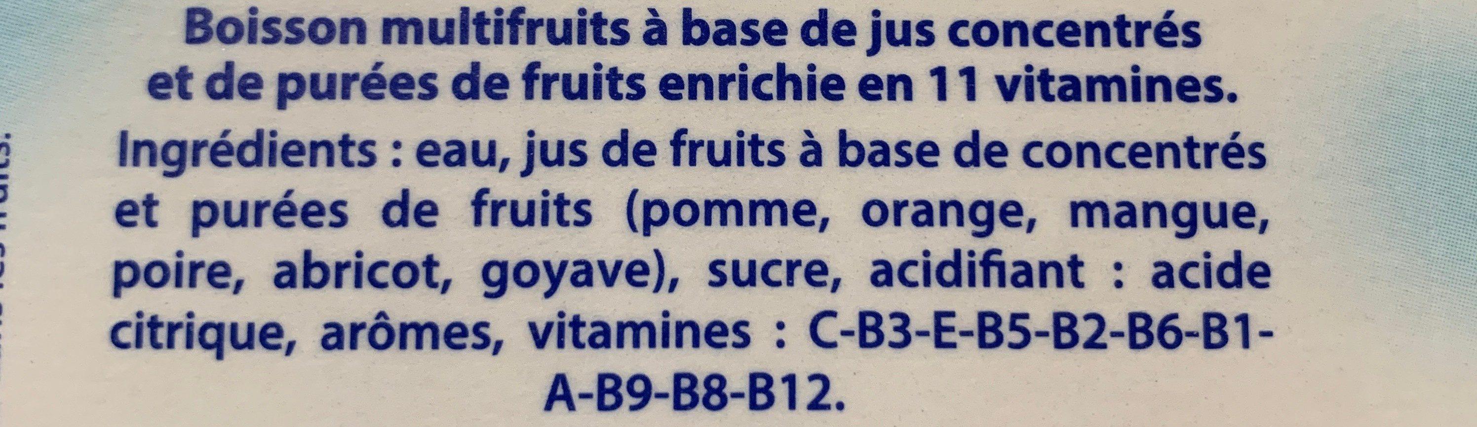 Caresse guyanaise - Ingrediënten - fr