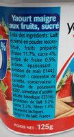 panier fraise 0% - Ingredients - fr