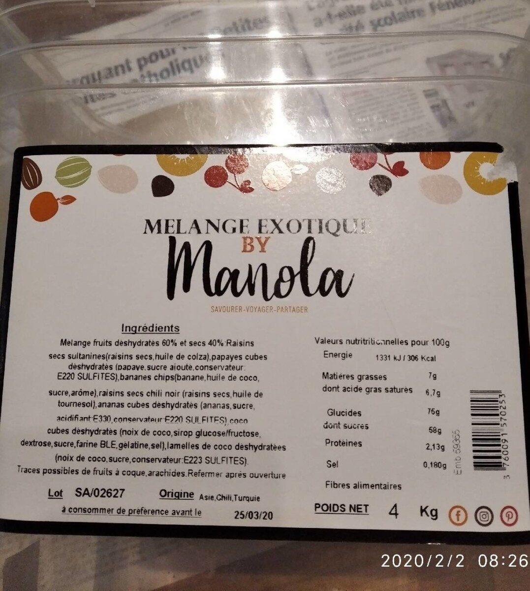 Mélange exotique MANOLA - Product - fr