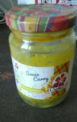 Sauce curry - Produit