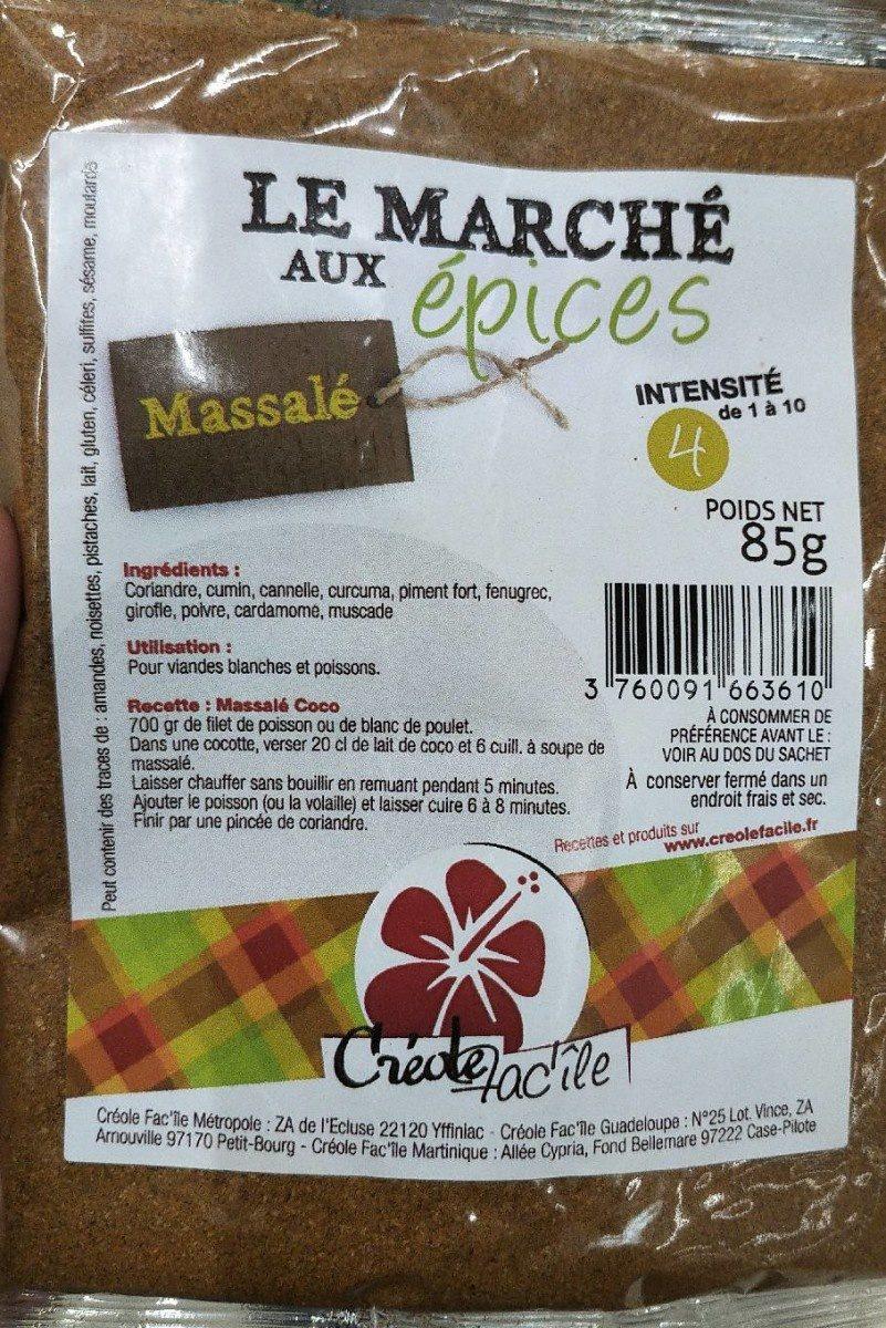 Massalé - Produit - fr