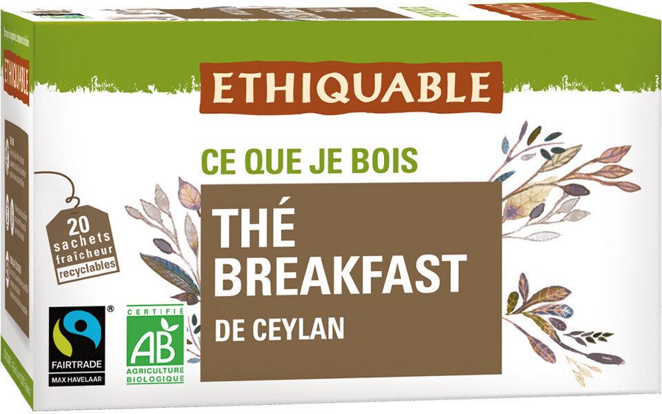 Thé breakfast de Ceylan - Product - fr