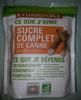 Sucre Complet de Canne (Origine Pérou) - Produit