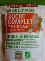 Sucre Complet de Canne (Origine Pérou) - Product
