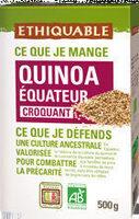 Quinoa de l'equateur - Producto - en