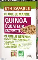 Quinoa de l'equateur - Produit