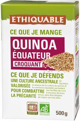Quinoa de l'equateur - Produit - fr