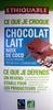 Chocolat Lait Noix de Coco - Product