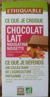 Chocolat lait nougatine noisette - Produit