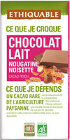 Chocolat lait nougatine noisette - Product - fr