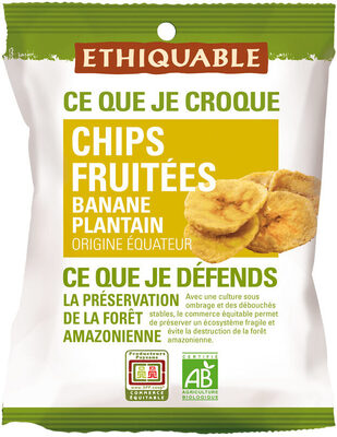 Chips Fruitées Banane Plantain - Produit - fr