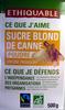 Sucre blond de canne en poudre Bio Ethiquable - Product