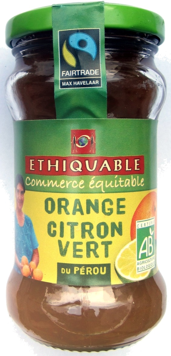 Confiture d'orange et de citron vert - Product - fr