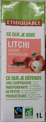Nectar de litchi - Produit