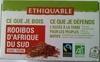 Rooibos d'Afrique du Sud - Producto