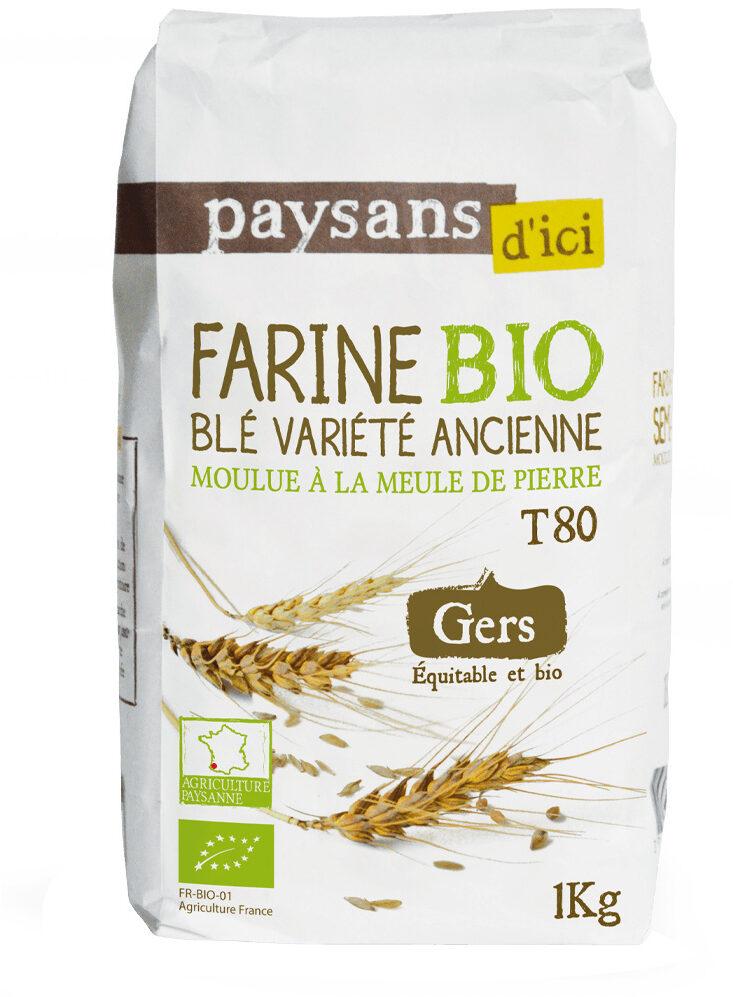 Farine de blé variété ancienne - Produit - fr