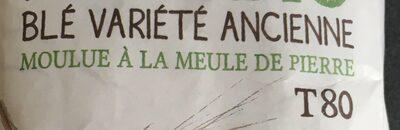 Farine de blé variété ancienne - Ingrédients - fr