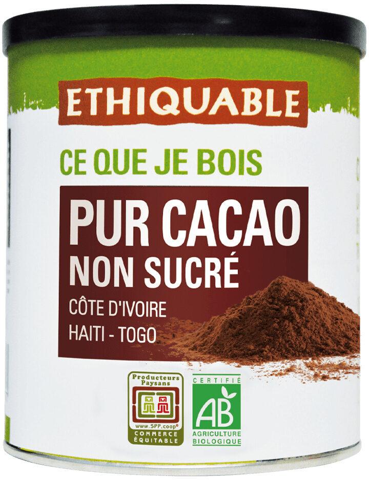 Pur cacao non sucré - Product - fr
