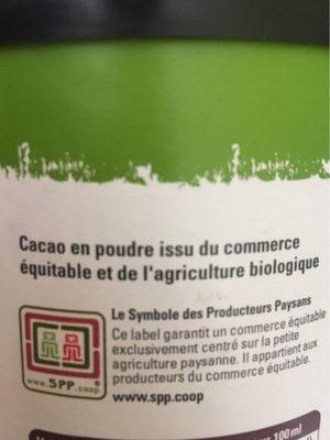 Pur cacao non sucré - Ingredients - fr