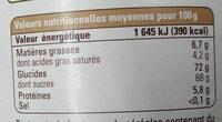 Chocolat en poudre Instantané - Informations nutritionnelles - fr
