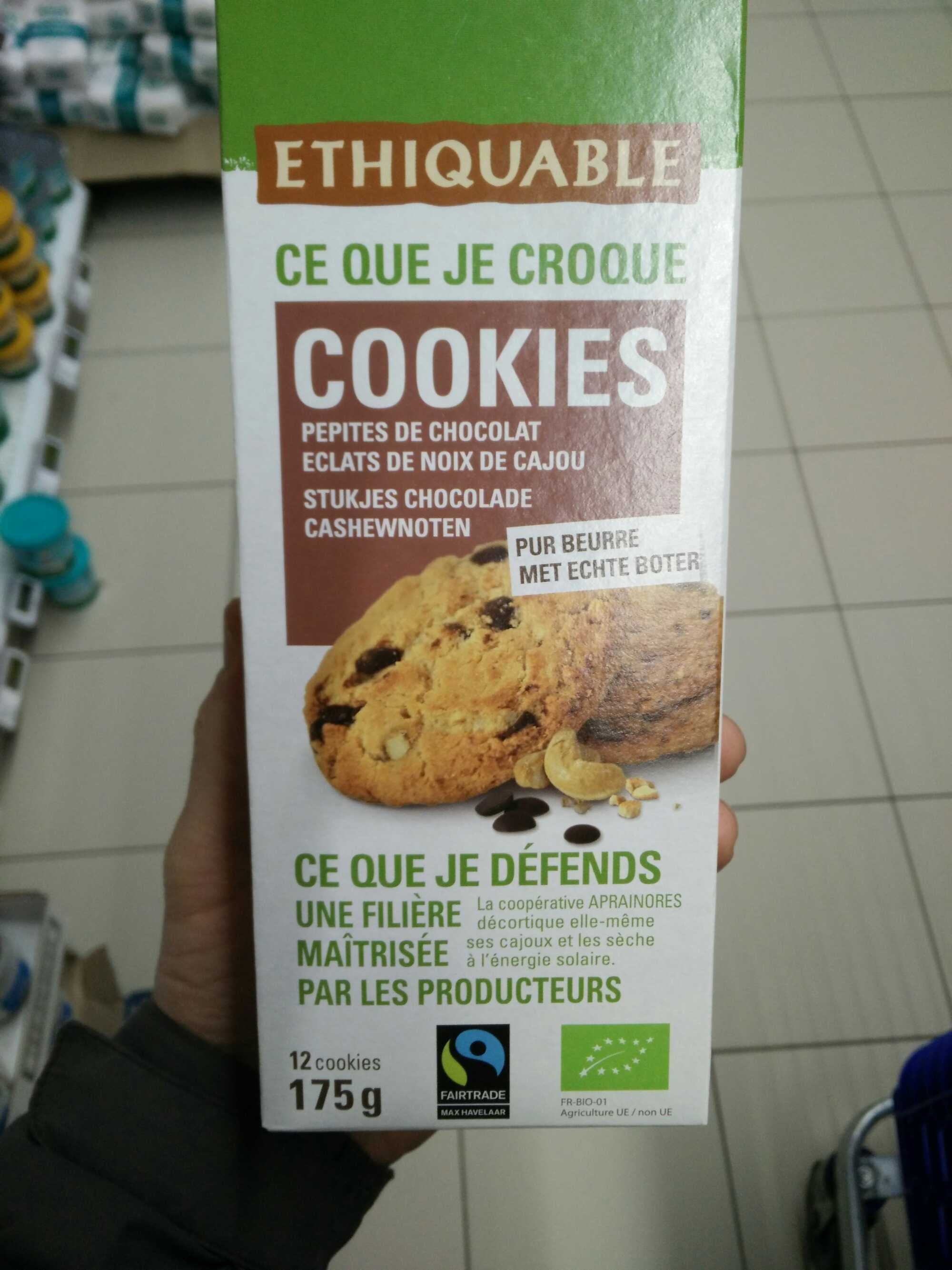 Cookies pépites de chocolat, éclats de noix de cajou - Product