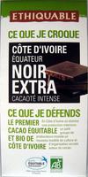 Côte d'Ivoire Equateur Noir Extra cacaoté intense - Product