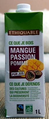 Pur jus Mangue Passion Pomme - Product - fr