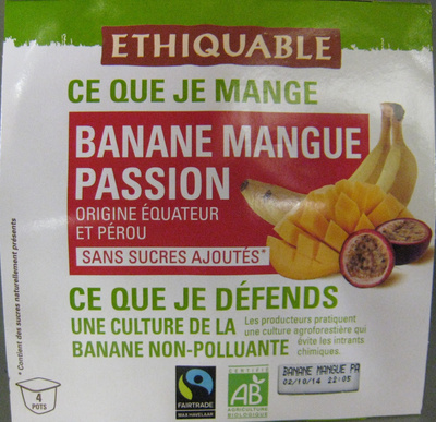 Banane Mangue Passion bio - Product