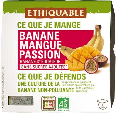 Banane Mangue Passion bio - Product - fr